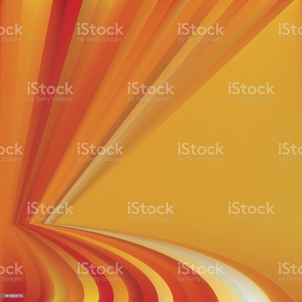 Colorful Autumn Abstract Background royalty-free stock vector art