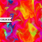 Colorful background. Art illustration. Vector EPS