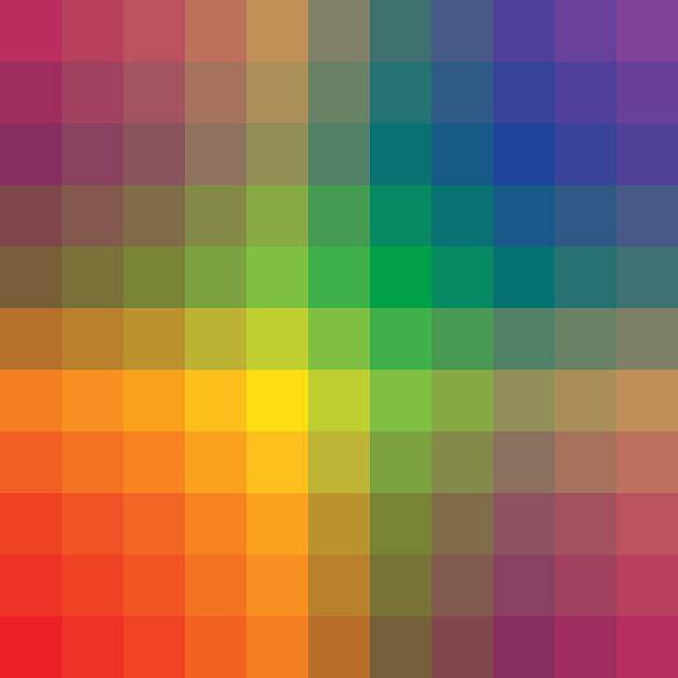 Colorful background pattern vector art illustration