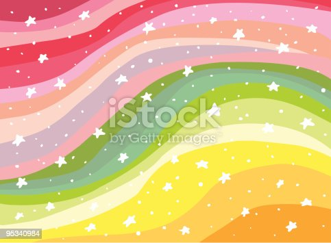 istock Colorful Background Rainbow illustration 95340984