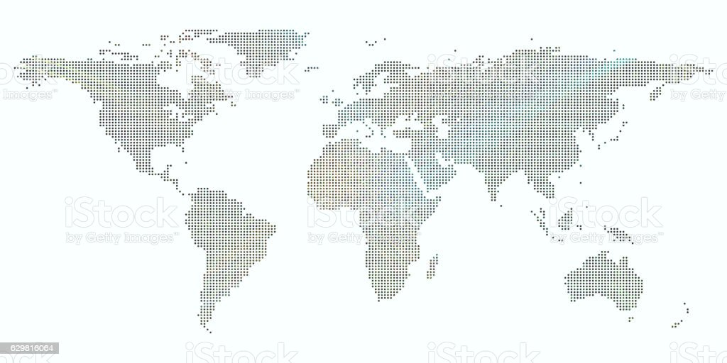 Colorful background with dotted world map abstract waves lines colorful background with dotted world map abstract waves lines bright royalty free gumiabroncs Image collections