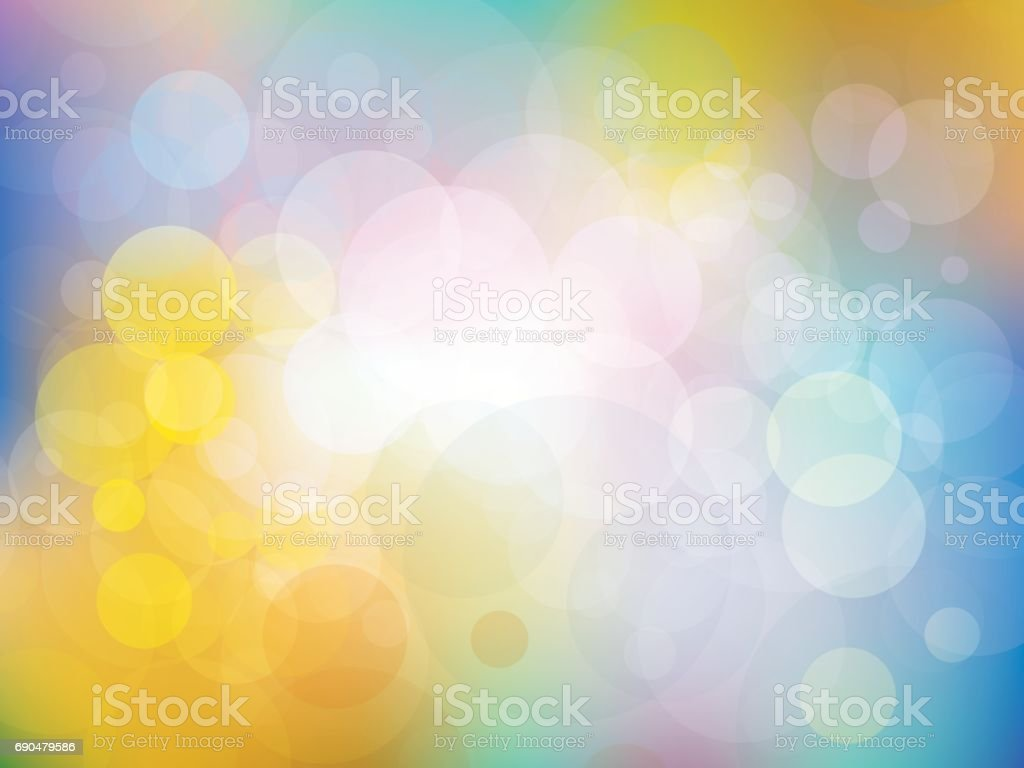 Colorful background with fresh colors vector art illustration