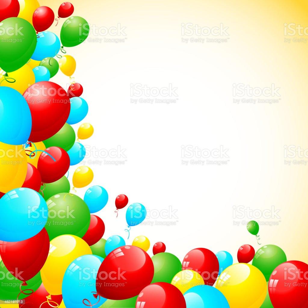 Colorful Balloon royalty-free stock vector art