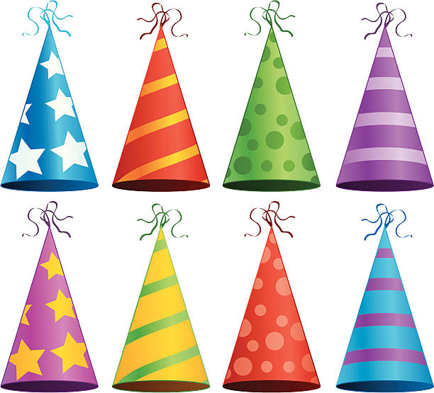 Party Hat Illustrations, Royalty-Free Vector Graphics