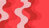 istock Colorful bitmap lines retro background 1288078582