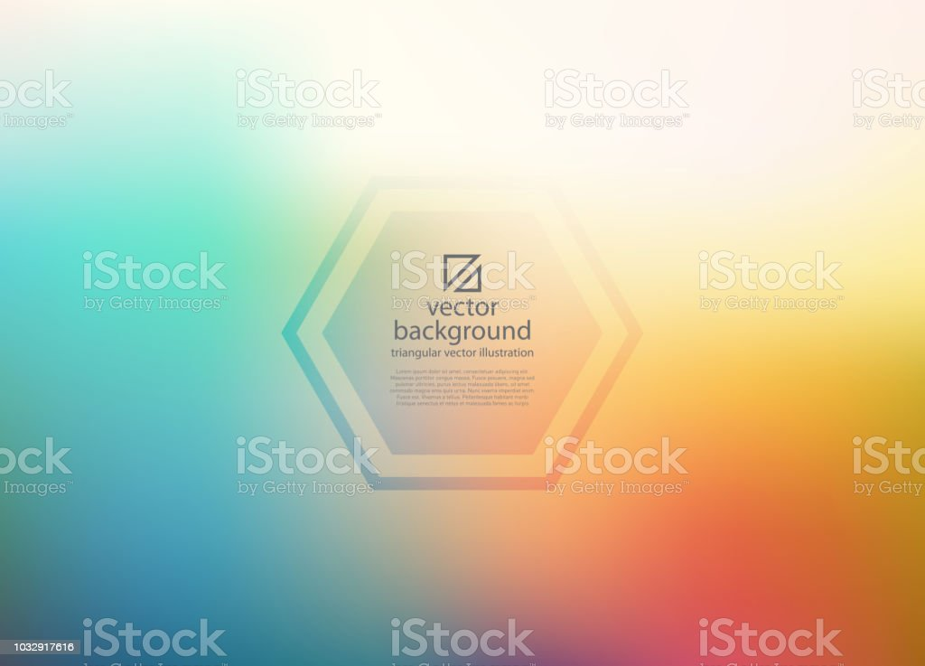 Colorful blurry background vector art illustration