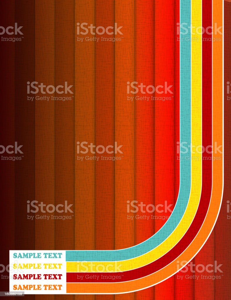 Colorful boards Background vector Illustration. vector art illustration