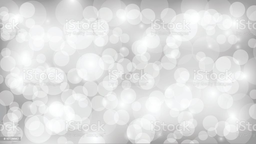 colorful bokeh backdrop. vector art illustration
