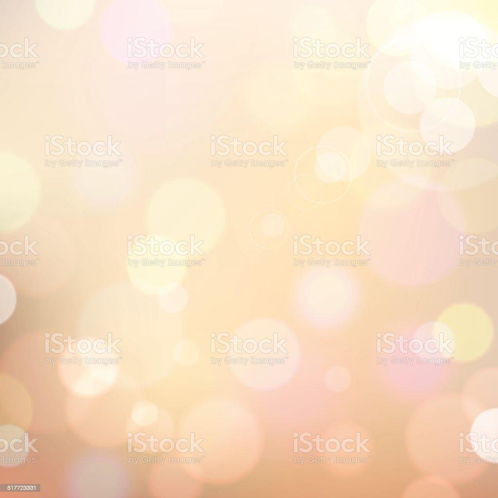 Colorful Bokeh Background vector art illustration