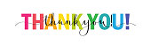istock THANK YOU! colorful brush calligraphy banner 1202536753