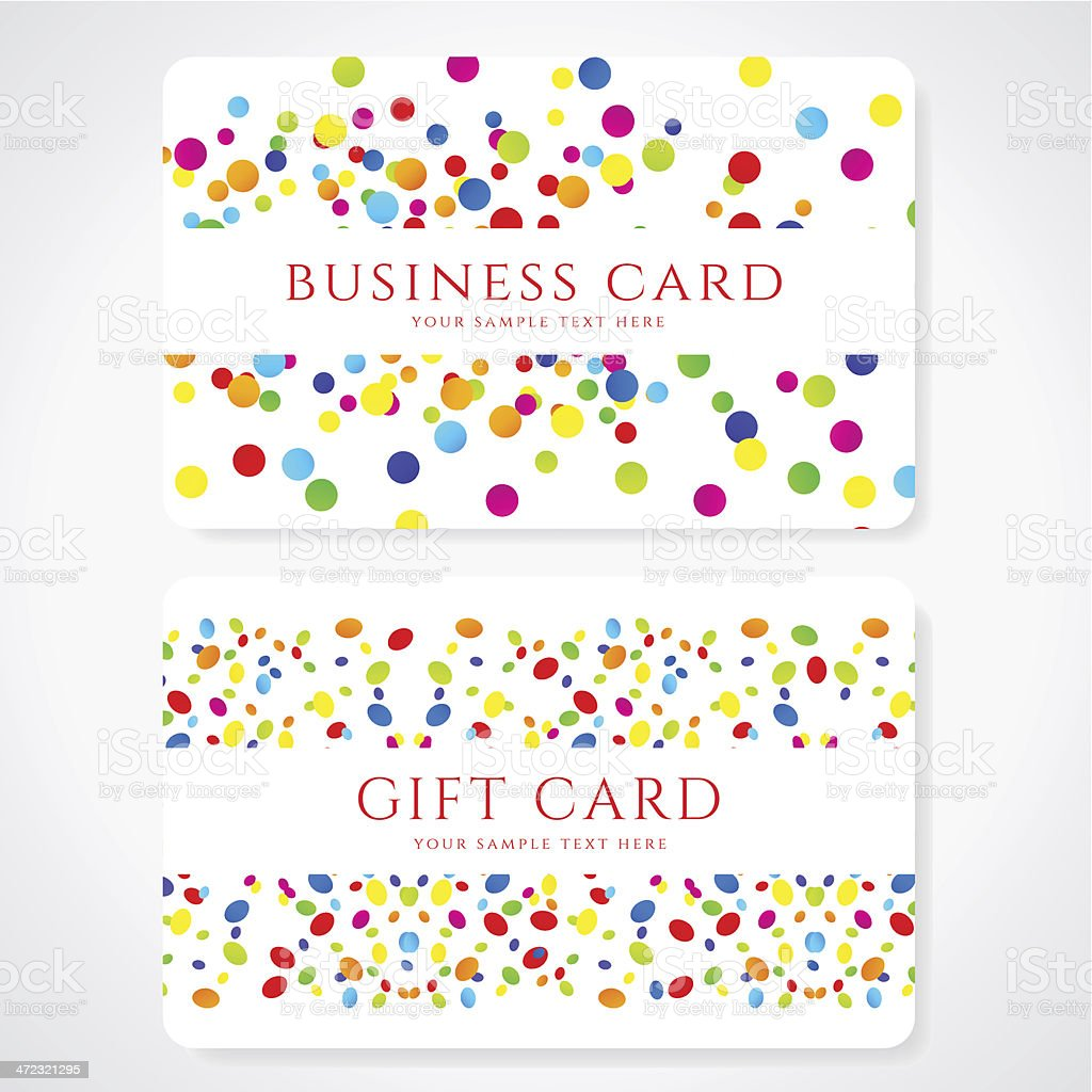 A colorful business gift card template idea abstract stock vector a colorful business gift card template idea abstract royalty free stock vector art magicingreecefo Image collections