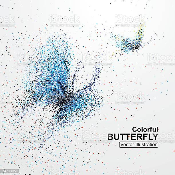 Colorful butterfly particles vector illustration vector id547030276?b=1&k=6&m=547030276&s=612x612&h=lkh8 9n4x8cg6e7f8bhjh6ekyzunmgjrohnqqijruxy=