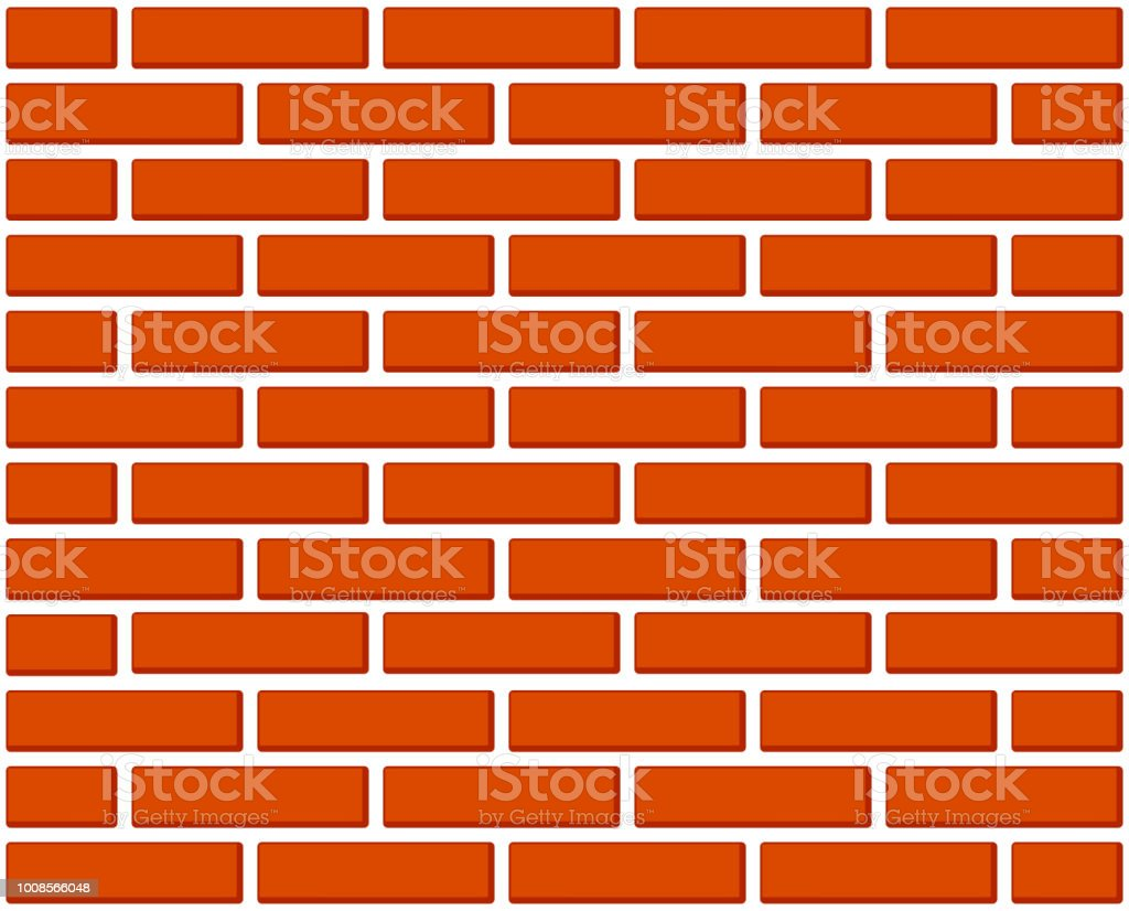 Colorful Cartoon Brick Wall Stock Vector Art & More Images