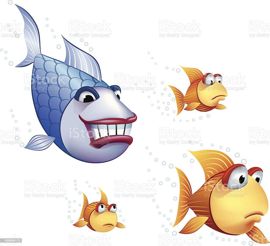 colorful cartoon fish