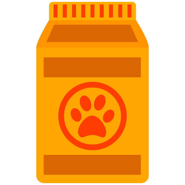 Royalty Free Cat Food Clip Art, Vector Images ...