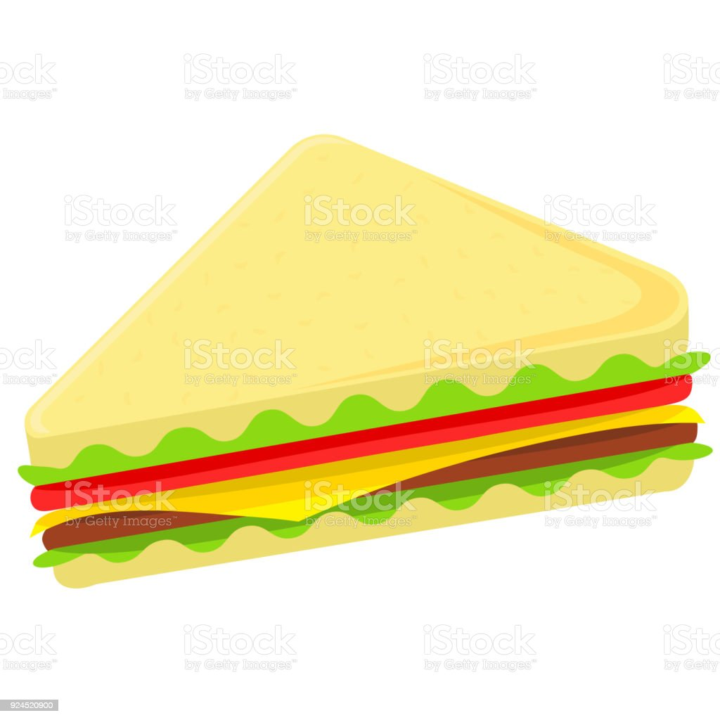 colorful cartoon sandwich fast food stock illustration download image now istock colorful cartoon sandwich fast food stock illustration download image now istock