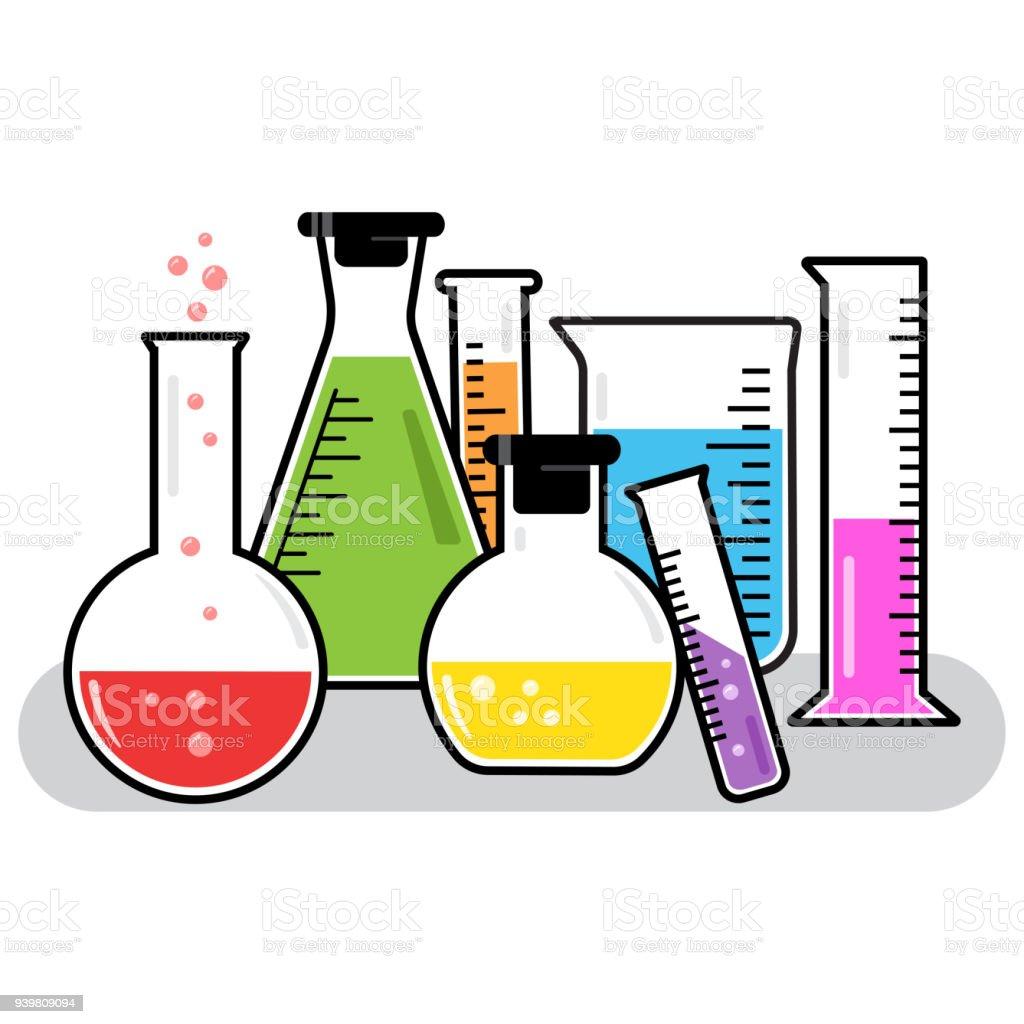 royalty free volumetric flask clip art vector images rh istockphoto com Chemistry Tools Clip Art Chemistry Tools Clip Art