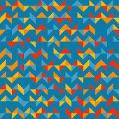 Colorful chevron pattern