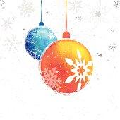 istock Colorful Christmas Balls 180889659