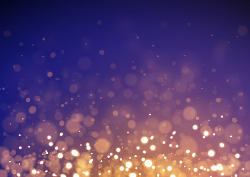 Purple and gold shiny sparkling glittering winter background vector illustration for use as background template on Christmas designs, cards, flyers, banners, advertising, brochures, posters, digital presentations, slideshows, PowerPoint, websites