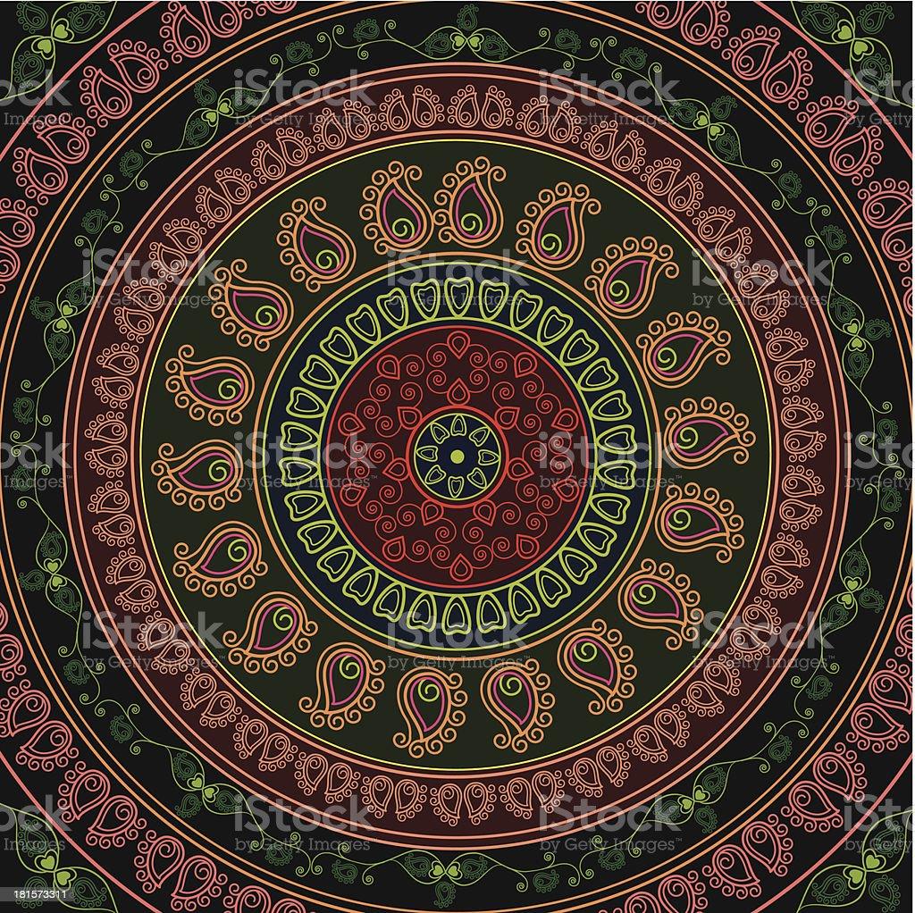 Colorful Circle royalty-free stock vector art