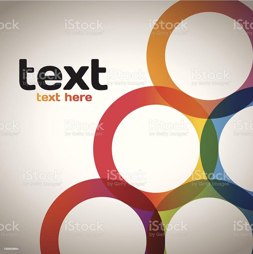 Colorful Circles royalty-free stock vector art