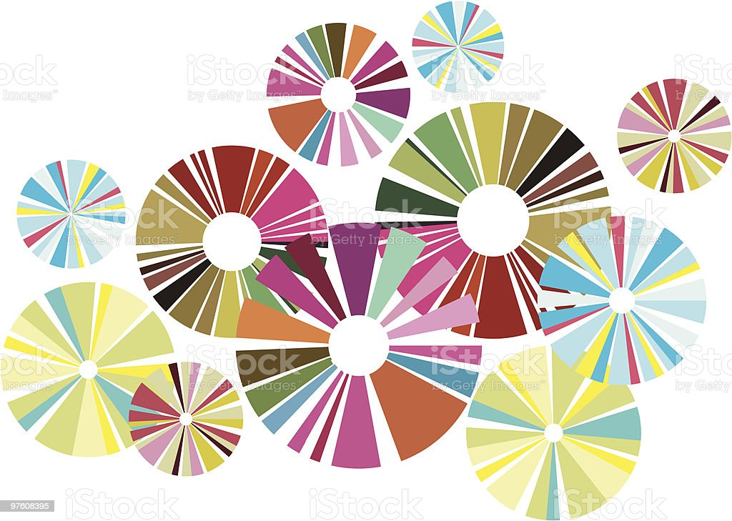 Colorful circles royalty-free colorful circles stock vector art & more images of abstract