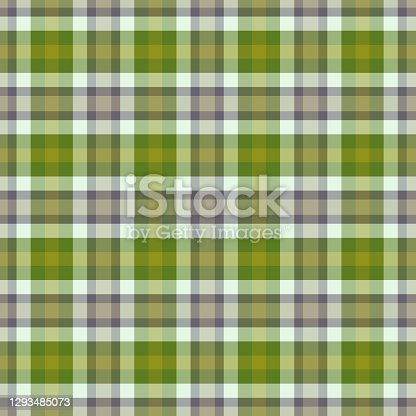istock Colorful classic plaid tartan seamless squared pattern 1293485073