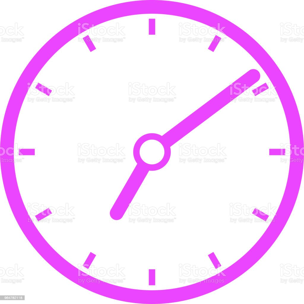 Colorful Clock illustration royalty-free colorful clock illustration stock vector art & more images of business