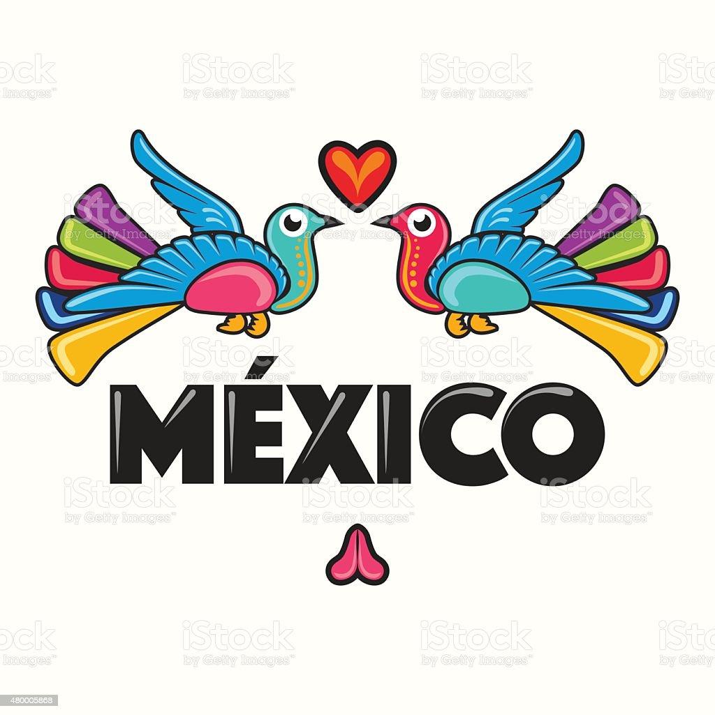 鮮やかな合成メキシコ - アイデンティティーのベクターアート素材や画像