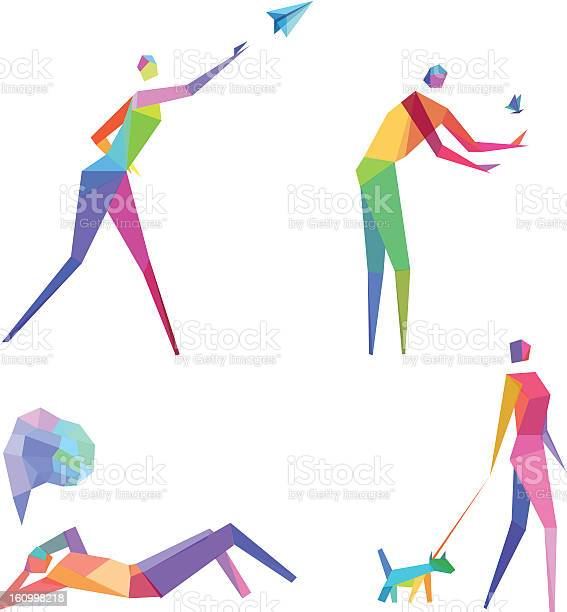 Colorful conceptual polygonal people vector id160998218?b=1&k=6&m=160998218&s=612x612&h= abhgmrjhmnvtqjhv6gsacf0sidjdq2ci71irokqiwo=