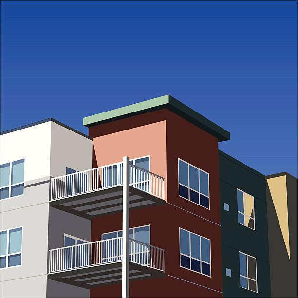 Apartment Complexes: Royalty Free Apartment Complex Clip Art, Vector Images