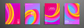 Colorful covers design set. Modern covers template design. Applicable for design covers, pentation, magazines, flyers, annual reports, posters and business cards