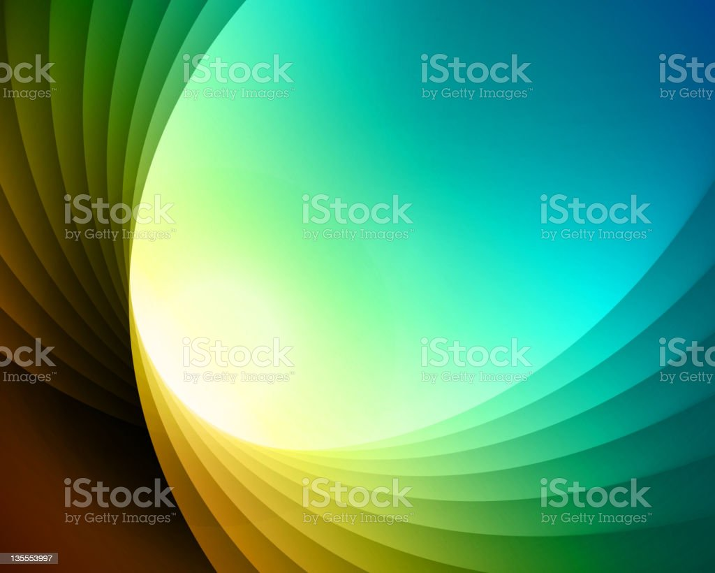 Colorful curved lines background royalty-free stock vector art