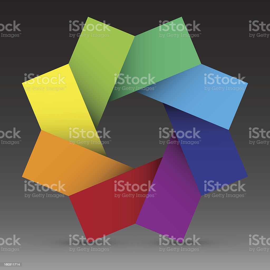Colorful design element background,Illustration royalty-free stock vector art