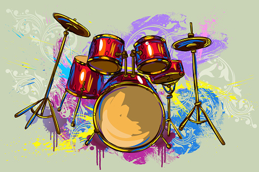 Colorful Drums