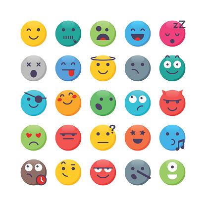 Colorful Emoji set 2