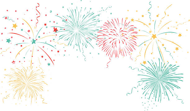 5 363 Fireworks White Background Stock Photos Pictures Royalty Free Images Istock
