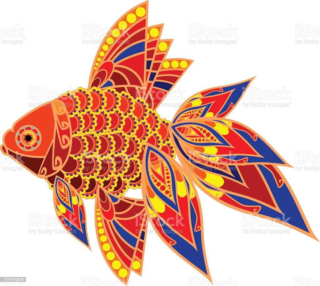 Colorful Fish Stock Vector Art & More Images of Animal Themes ...