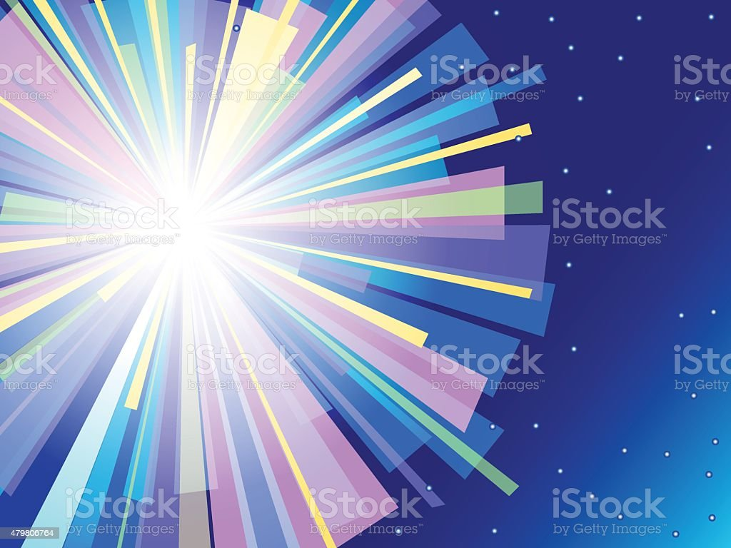 Colorful flash vector background. vector art illustration