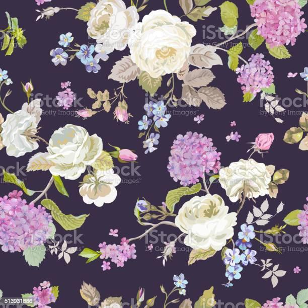 Colorful flowers background seamless floral shabby chic pattern vector id513931886?b=1&k=6&m=513931886&s=612x612&h= 0w8cbjwtc3iceikqqgw 5jkateh w8lyhd6jmtz4ji=