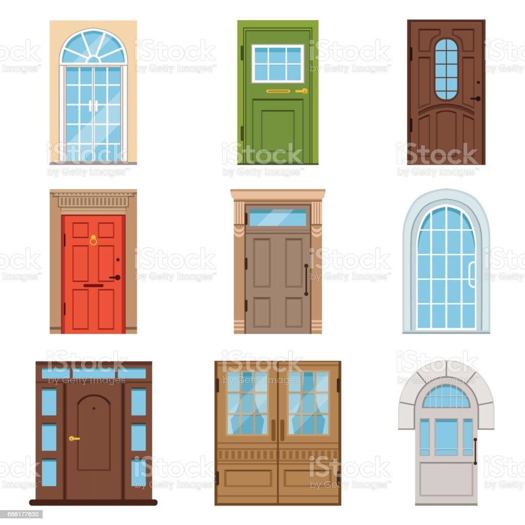 Moderne Türen bunte haustüren sammlung vintage und moderne türen für häuser