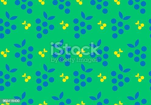 Colorful Fruit Seamless Pattern Background Isolated Vector Elements - Stockowe grafiki wektorowe i więcej obrazów Abstrakcja 965418400