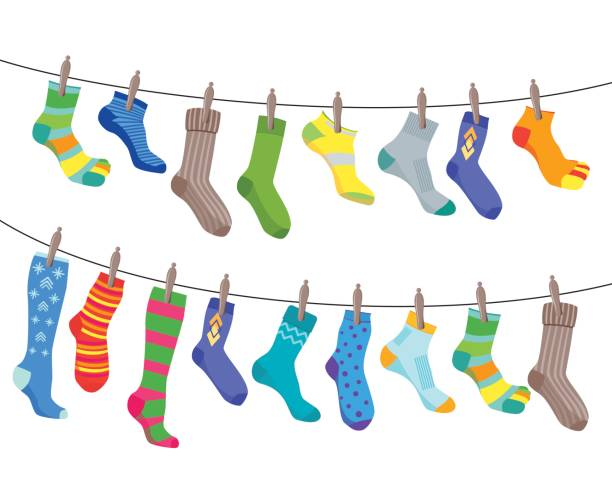 45,050 Sock Illustrations, Royalty-Free Vector Graphics & Clip Art - iStock