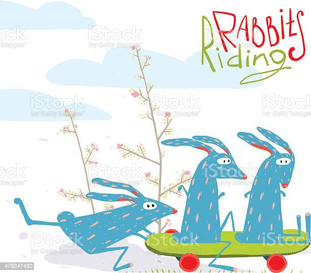 Colorful funny cartoon rabbits riding skateboard vector id475247432?b=1&k=6&m=475247432&s=612x612&h=rijo3 mg6rnys6z8tiy3qvbpxjqtlss4avxujhstcco=