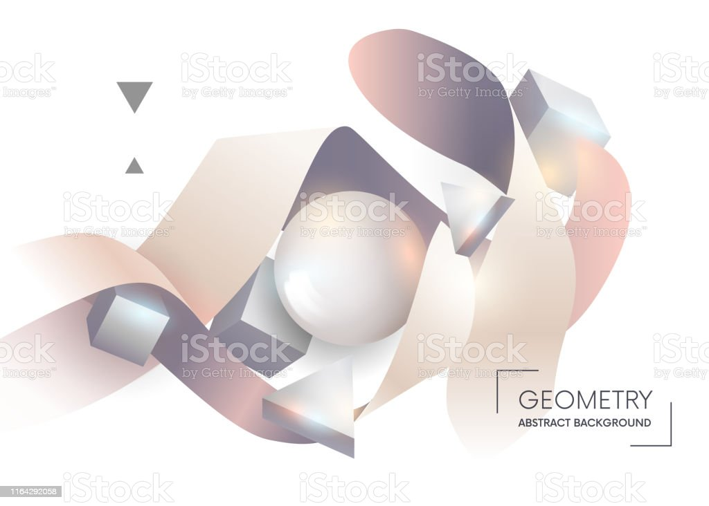 Colorful Geometric Abstract Composition Composition Colored