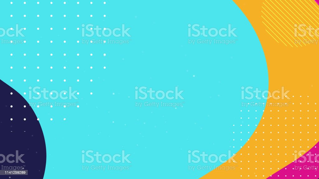 다채로운 기하학적 배경 - 로열티 프리 0명 벡터 아트