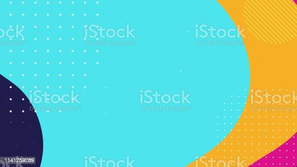 Colorful Geometric Background - Arte vetorial de stock e mais imagens de Abstrato