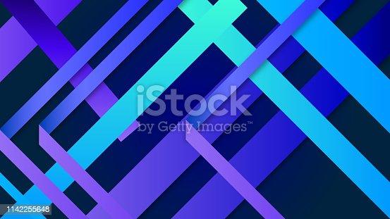 520740170istockphoto Colorful Geometric Background 1142255648