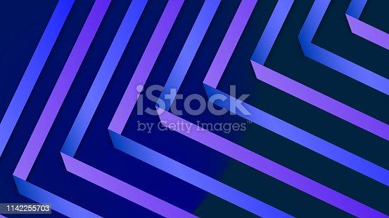 520740170istockphoto Colorful Geometric Background 1142255703